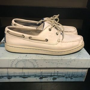 Sperry Cup White/Blue